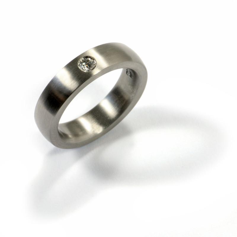Verlobungsring Palladium Brillant (1007510)